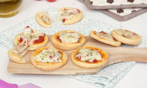 Ricetta Pizzette veloci