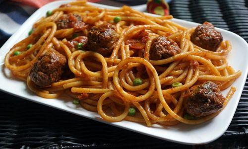 Ricetta Spaghetti con polpette