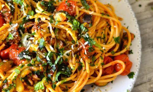 Ricetta Spaghetti alla mediterranea