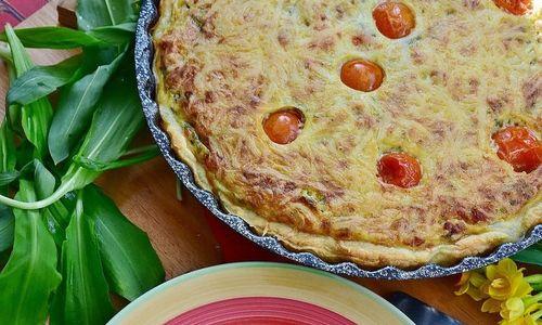 Ricetta Torta con prosciutto e champignon