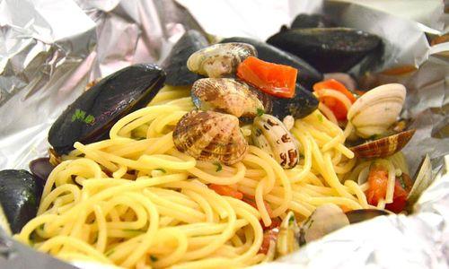 Ricetta Spaghetti al cartoccio