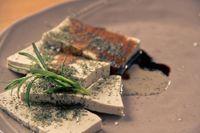 Cilindretti di tofu
