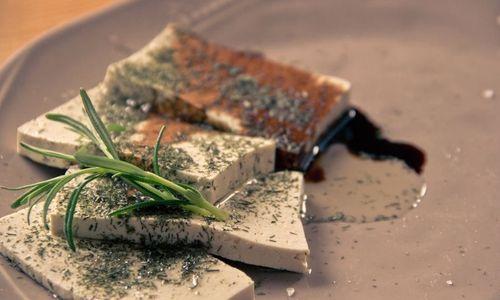 Ricetta Cilindretti di tofu