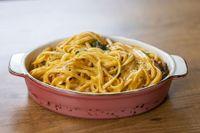 Spaghetti all'arancia
