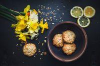 Biscottini delicati con mandorle