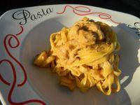 Lasagnette con scampi