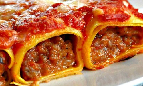 Ricetta Cannelloni al forno