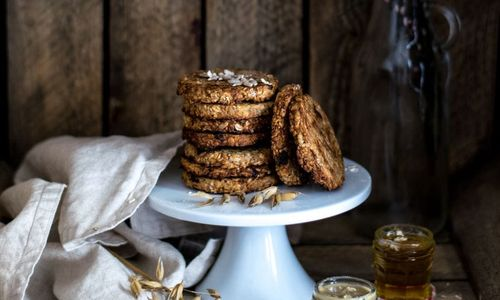 Ricetta Biscotti di fiocchi d'avena