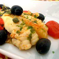 Coda di rospo alla siciliana