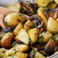 Funghi con patate