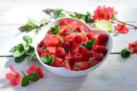 Insalata ai frutti rossi