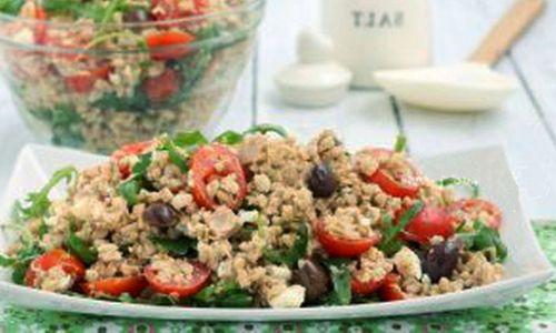 Ricetta Farro con verdure e provola