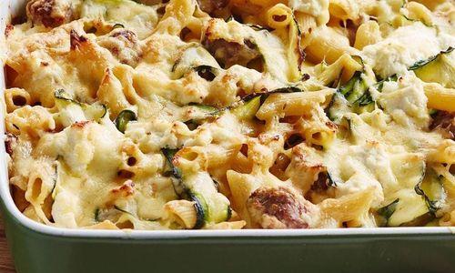 Ricetta Maccheroni al forno con zucchine