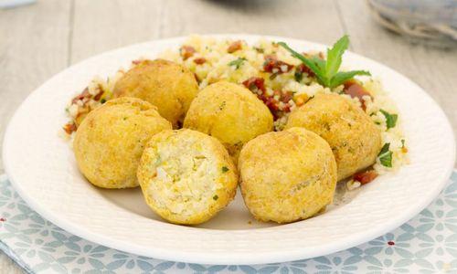 Ricetta Palline di zucchine al forno