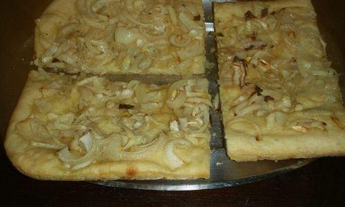 Ricetta Focaccia con cipolle
