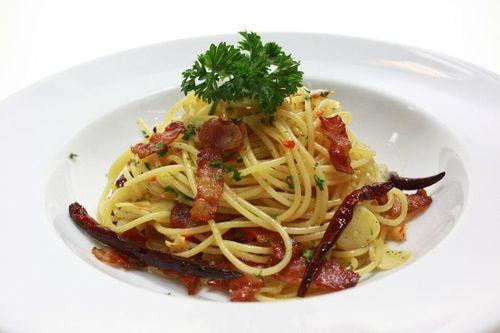 Ricetta Pasta rustica al bacon