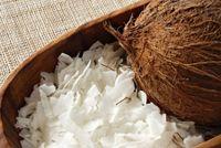 Torta semplice al cocco