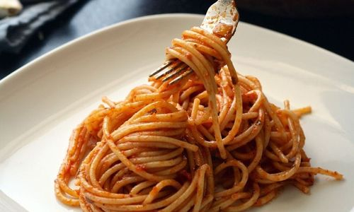 Ricetta Spaghettini con acciughe e mandorle