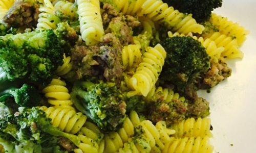 Ricetta Fusilli con broccoli e salsiccia