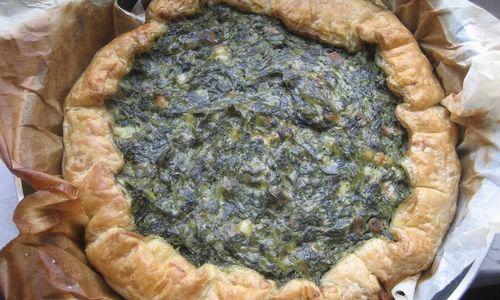 Ricetta Torta con spinaci e prosciutto