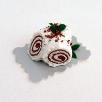 Tronchetto al cioccolato bianco