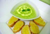 Brodo con spinaci