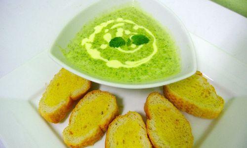 Ricetta Brodo con spinaci