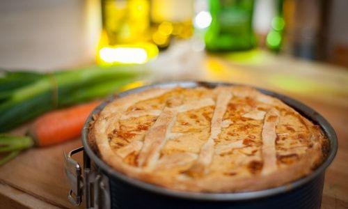 Ricetta Torta salata di funghi e prosciutto