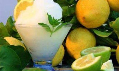 Ricetta Granita al limone