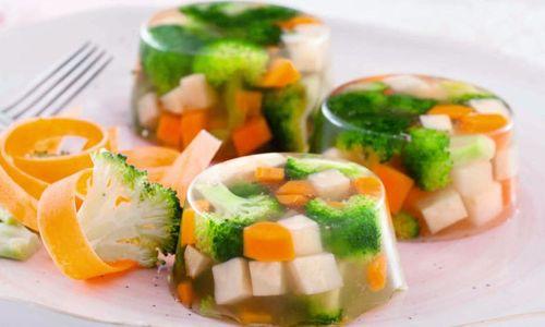 Ricetta Aspic di verdure mediterranee