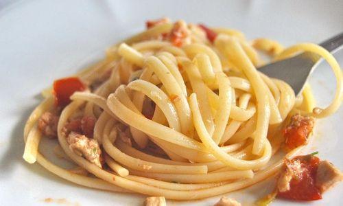 Ricetta Spaghetti al pesce spada