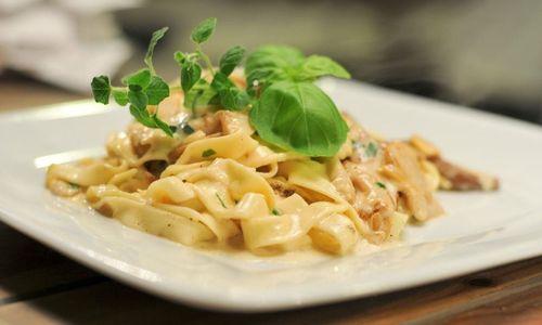 Ricetta Tagliatelle ai funghi e gorgonzola