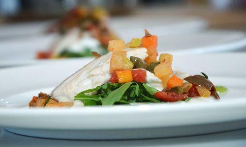 Ricetta Filetti di dentice con verdure
