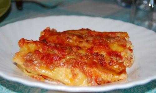Ricetta Cannelloni con mozzarella