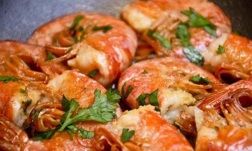 Ricetta Gamberoni in padella