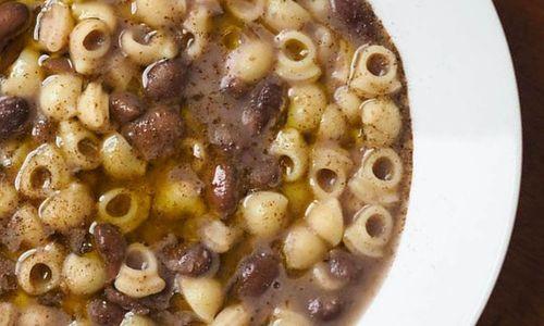 Ricetta Minestra di pasta e fagioli