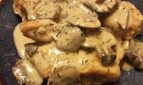 Ricetta Petti di pollo ai funghi