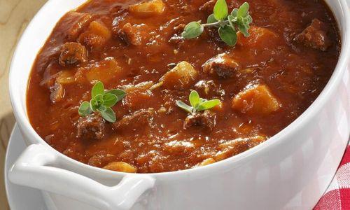 Ricetta Zuppa di manzo (Gulaschsuppe )