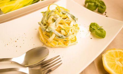 Ricetta Fusilli alla crema di zucchine