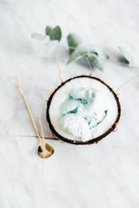 Gelato al cocco