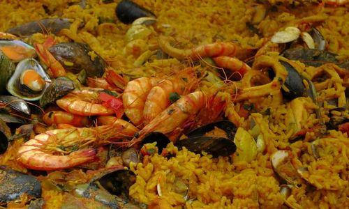 Ricetta Risotto con curry e frutti di mare
