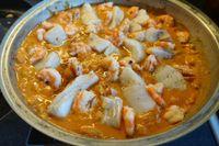 Guazzetto di pesce al curry
