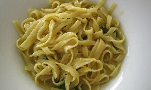 Ricetta Pasta fatta in casa al limone