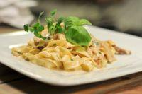 Lasagnette con fagioli