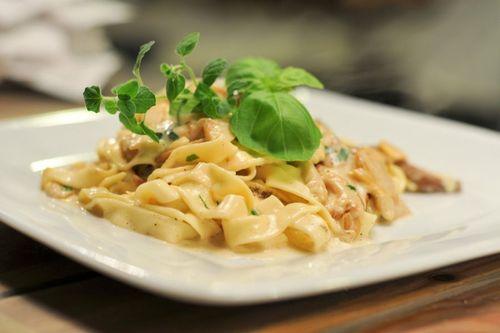 Ricetta Lasagnette con fagioli