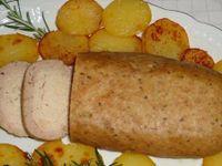 Polpettone di patate e funghi
