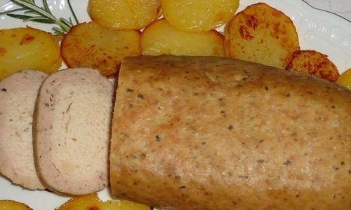 Ricetta Polpettone di patate e funghi