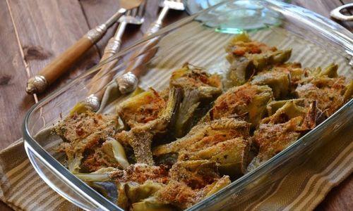 Ricetta Patate e carciofi al forno