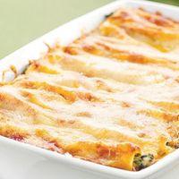 Cannelloni ripieni di spinaci