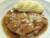 Scaloppine di vitello al brandy